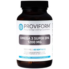 Proviform Omega 3 super EPA 1200 mg (60 softgels)
