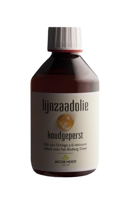 Jacob Hooy Jacob Hooy Lijnzaad olie (250 ml)