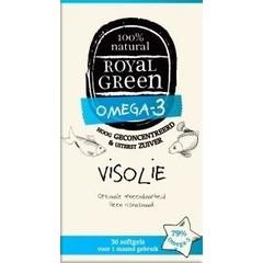 Royal Green Omega 3 visolie (30 softgels)