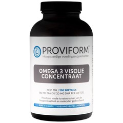 Proviform Omega 3 visolie concentraat 1000 mg (250 softgels)