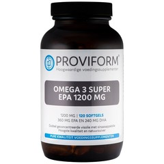 Proviform Omega 3 super EPA 1200 mg (120 softgels)