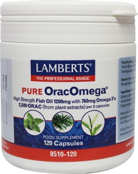 Lamberts Orac omega (visolie) (120 capsules)