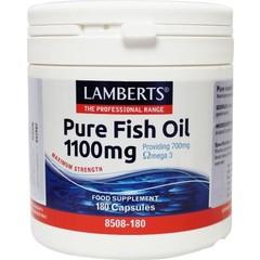 Lamberts Pure visolie 1100 mg omega 3 (180 capsules)