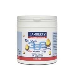 Lamberts Visolie Omega 3 6 9 (120 capsules)