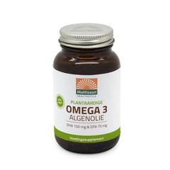 Mattisson Vegan omega 3 algenolie DHA 150mg EPA 75mg (60 capsules)