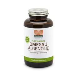 Mattisson Vegan omega 3 algenolie DHA 150mg EPA 75mg (120 capsules)
