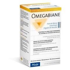 Pileje Omegabiane levertraan (80 capsules)