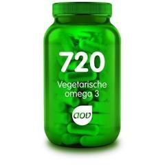 AOV 720 Vegetarische omega 3 (60 capsules)