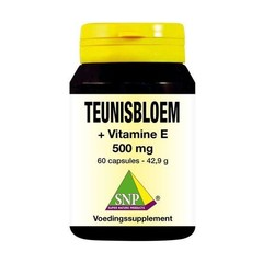 SNP Teunisbloem vitamine E 500 mg (60 capsules)