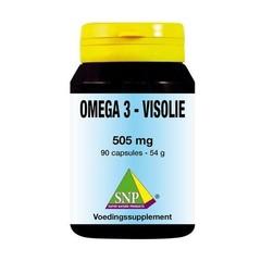 SNP Visolie omega 3 505 mg (90 capsules)