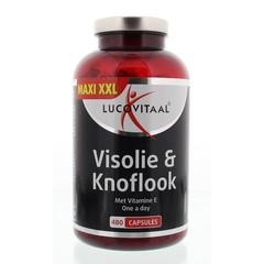 Lucovitaal Visolie knoflook (480 capsules)