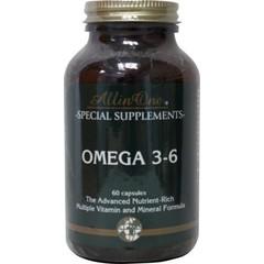 All In One Omega 3-6 (60 capsules)