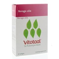 Vitotaal Borage olie 63 gram (45 capsules)