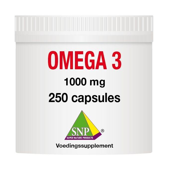 SNP SNP Omega 3 1000 mg (250 capsules)