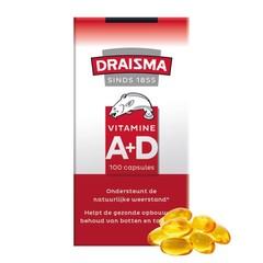 Draisma Vitamine A + D levertraan (100 capsules)