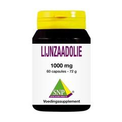 SNP Lijnzaadolie 1000 mg (60 capsules)