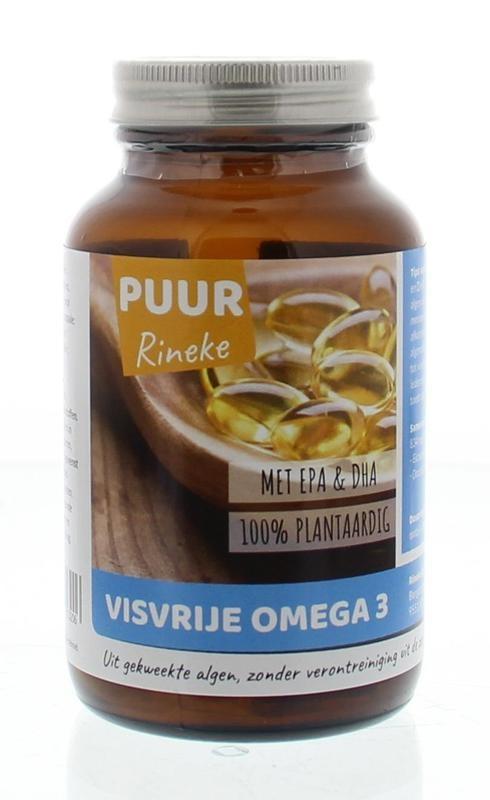 Puur Rineke Puur Rineke Visvrije omega 3 (60 capsules)
