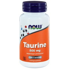 NOW Taurine 500 mg (100 capsules)
