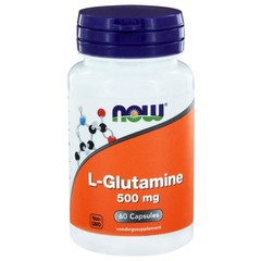 NOW L-Glutamine 500 mg (60 Vcaps)