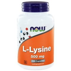 NOW L-Lysine 500 mg (100 capsules)