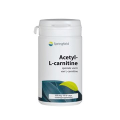 Springfield Acetyl L carnitine (60 vcaps)