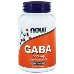 NOW GABA 500 mg (100 Vcaps)