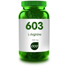 AOV 603 L-Arginine 500 mg (90 vcaps)