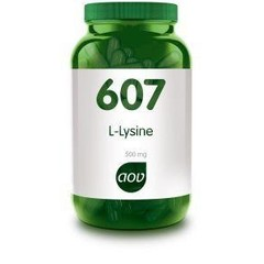 AOV 607 L-Lysine 500 mg (90 vcaps)