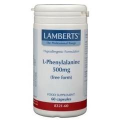 Lamberts L-Phenylalanine 500 mg (60 capsules)