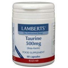 Lamberts Taurine 500 mg (60 vcaps)