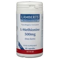 Lamberts L-Methionine 500 mg (60 vcaps)