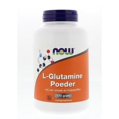 NOW L-Glutamine poeder (170 gram)