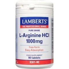 Lamberts L-Arginine 1000 mg (90 tabletten)