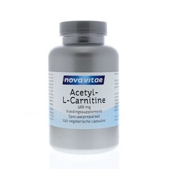 Nova Vitae Acetyl-l-carnitine 588 mg (120 capsules)