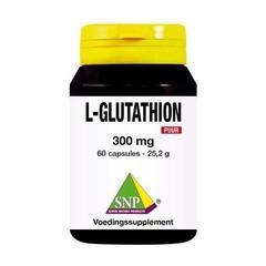 SNP L-Glutathion 300 mg puur (60 capsules)