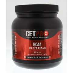 Getpro BCAA ice tea peach (500 gram)