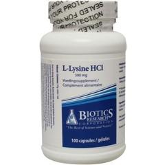 Biotics L-Lysine 500 mg (100 capsules)