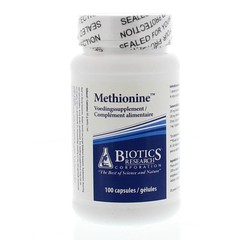 Biotics Methionine 200 mg (100 capsules)
