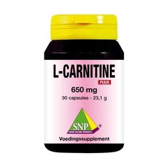 SNP L-Carnitine 650 mg puur (30 capsules)