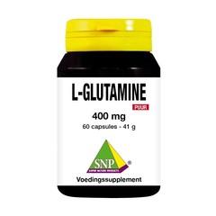 SNP L-Glutamine 400 mg puur (60 capsules)