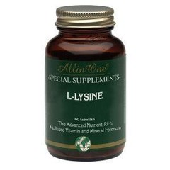 All In One L-lysine (60 tabletten)