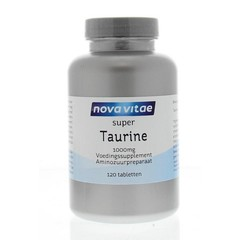 Nova Vitae Taurine 1000 mg (120 tabletten)
