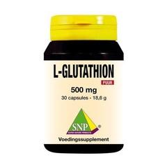SNP L-Glutathion 500 mg puur (30 capsules)