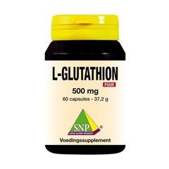 SNP L-Glutathion 500 mg puur (60 capsules)