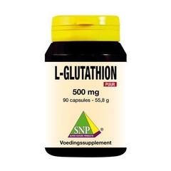 SNP L-Glutathion 500 mg puur (90 capsules)