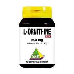 SNP L-Ornithine 500 mg puur (60 capsules)