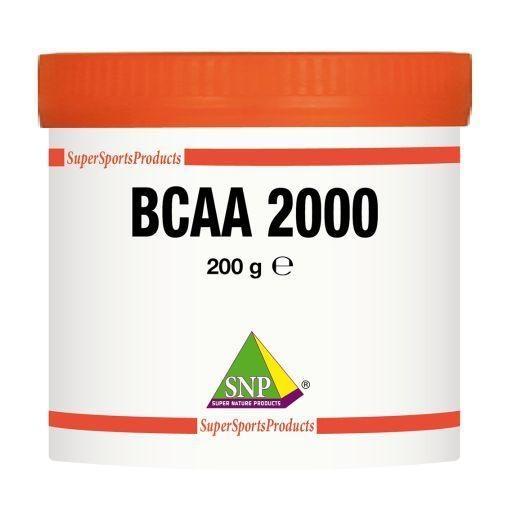 SNP SNP BCAA XXL puur (200 gram)