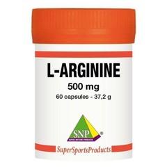 SNP L-arginine 500 mg puur (60 capsules)
