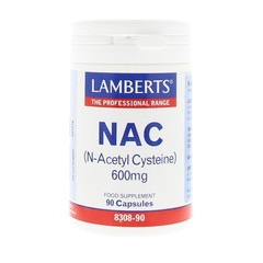 Lamberts N-Acetyl cysteine (90 capsules)