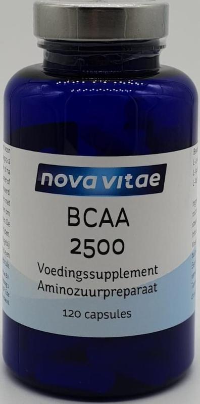 Nova Vitae BCAA 2500 2:1:1 (120 capsules)